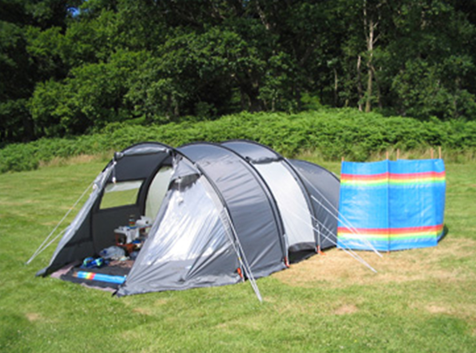 Accommodation and camping, Start Point, Devon